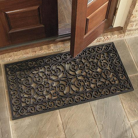 large halloween doormat