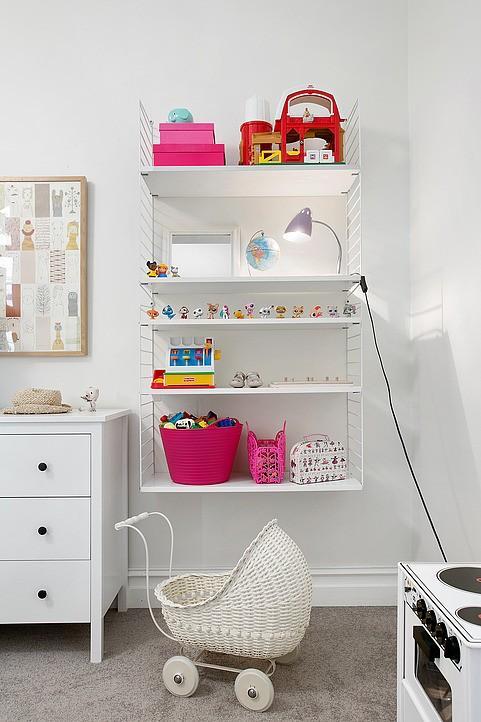 Children room - in Scandianvian interior design style