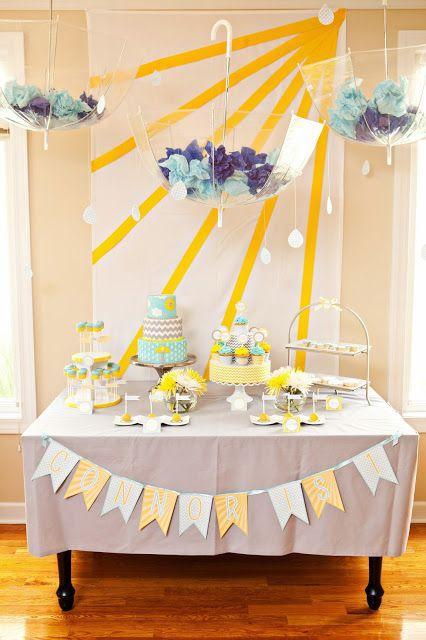 Creative wall decors - for baby shower