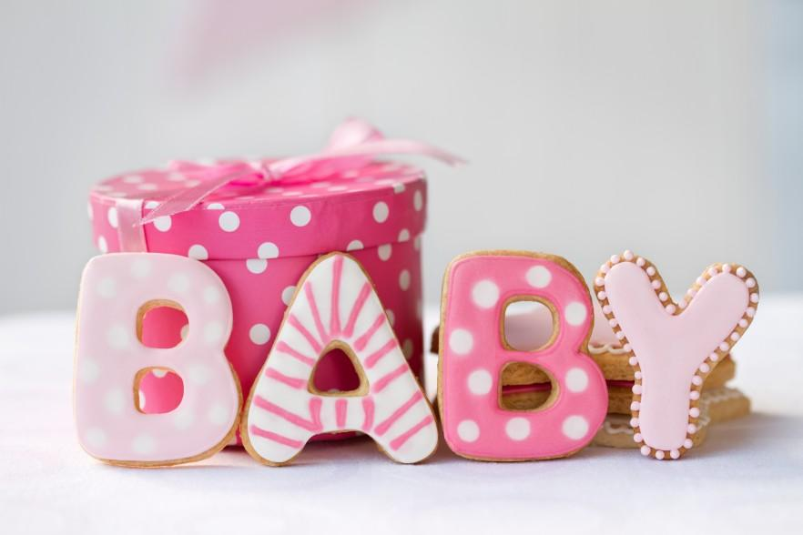 Baby shower decorative items for a party