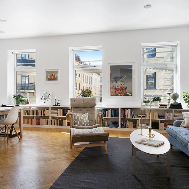 Elegant Scandinavian Loft by Alvhem