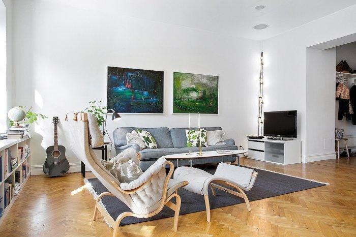Elegant Scandinavian Loft By Alvhem Founterior
