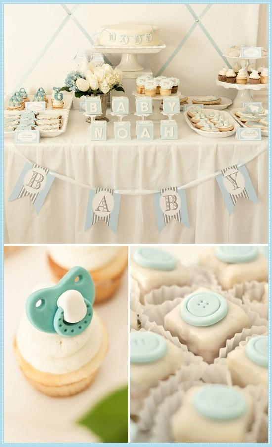 Baby noah - party decor
