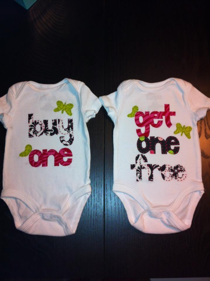 Baby shower idea for twin girls 4 - two sweet dresses
