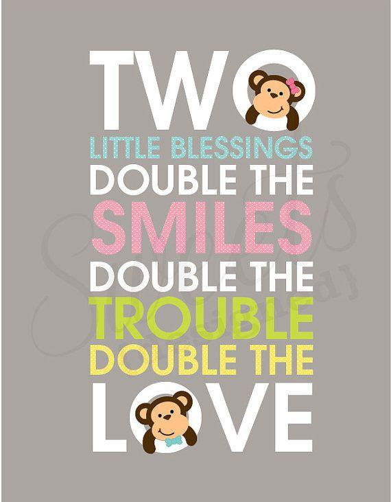Baby shower idea for twins 5 - two little blessings
