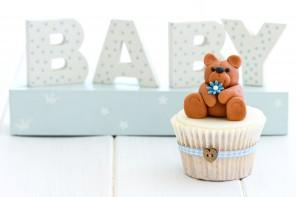 Baby shower party with lots of decor