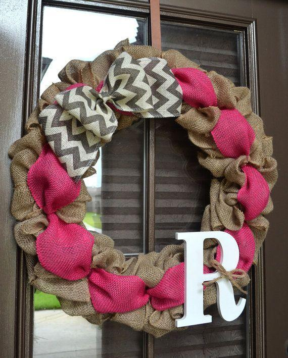 Baby shower wreath 13 - handmade DIY wreath