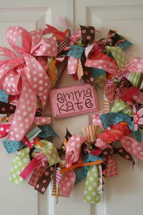 Baby shower wreath 2 - Emma Kate