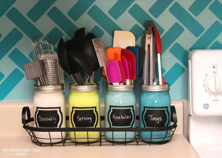 Bathroom mason jars 2 - for storing items