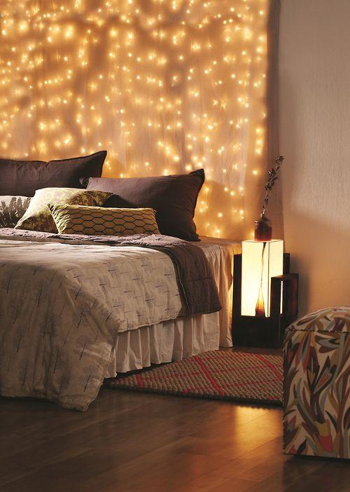 Curtains Ideas curtain lights for bedroom : Bedroom Christmas Lights 7 - elegant light curtain | Founterior