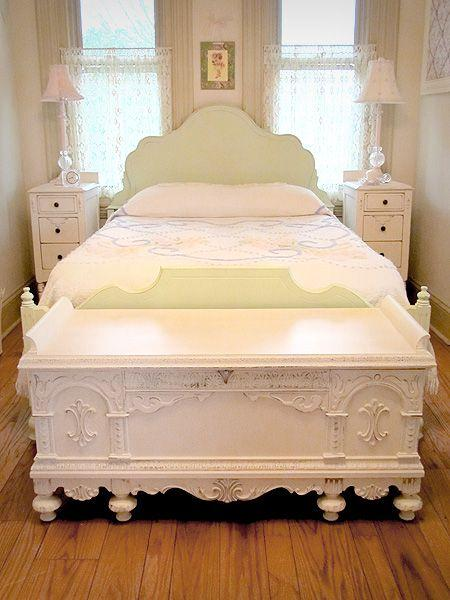 bedroom chest foot bed 4 with classic white design