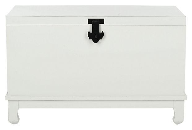 Bedroom chest storage 3 - in pure white