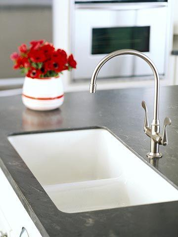 Beautiful ideas for solid countertops surfaces - Corian bathroom sinks and countertops ...