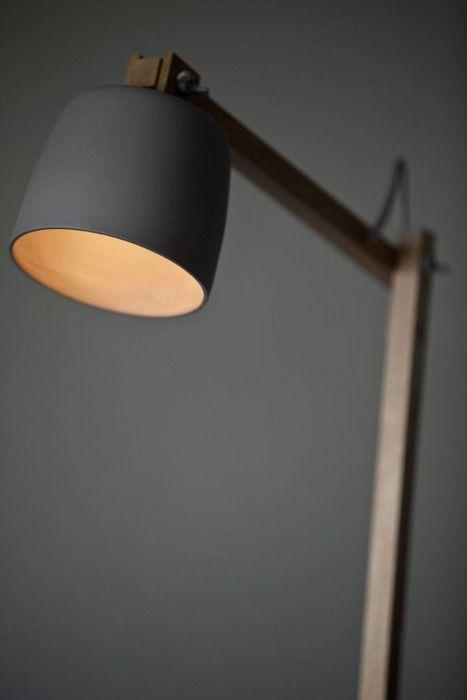 Black modern lamp - for computer desk use
