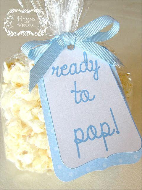 Boy baby shower 1 - ready to pop