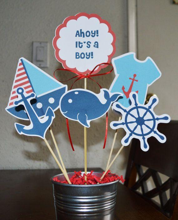 Boy baby shower 2 - ahoy, it's a boy!