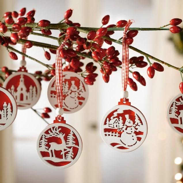 Christmas hanging garland decoration