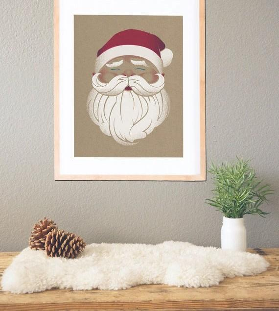 Christmas wall art with pictures