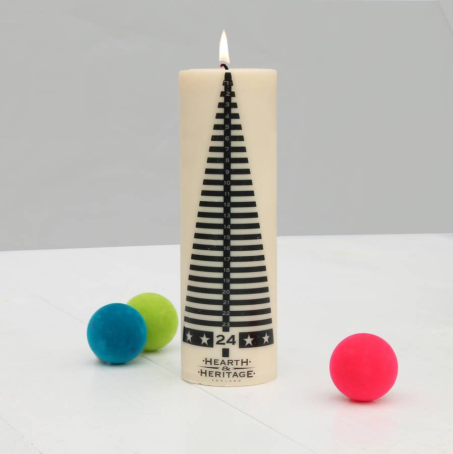 Christmas candle - for women