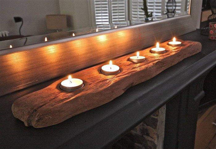 Christmas candleholder - for men