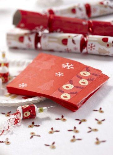 Christmas decoration idea 15 - Rudolf napkins