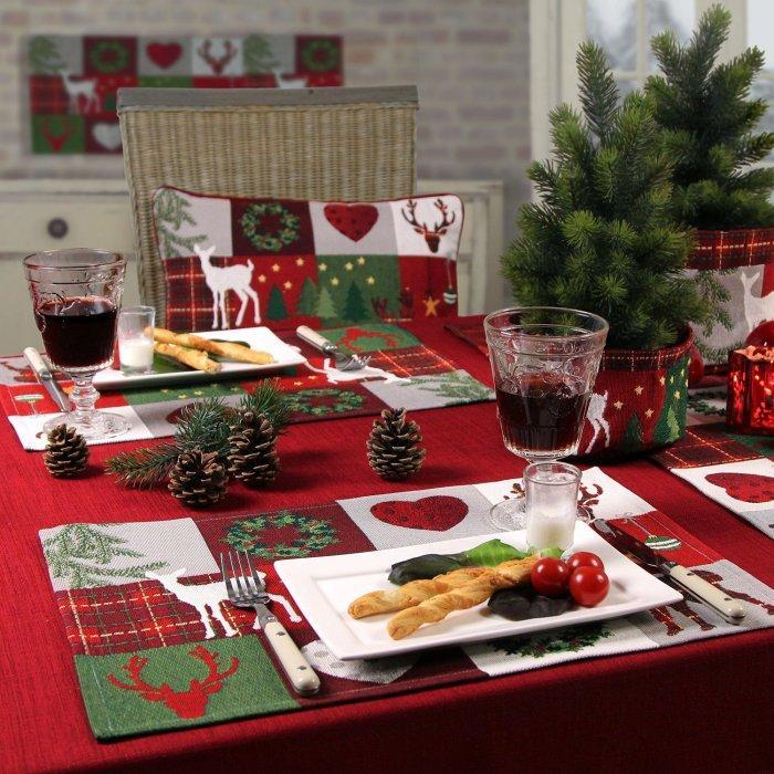 Christmas decoration idea 16 - table setting