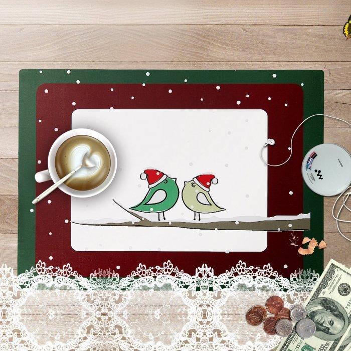 Christmas decoration idea 17 - lovely birdies