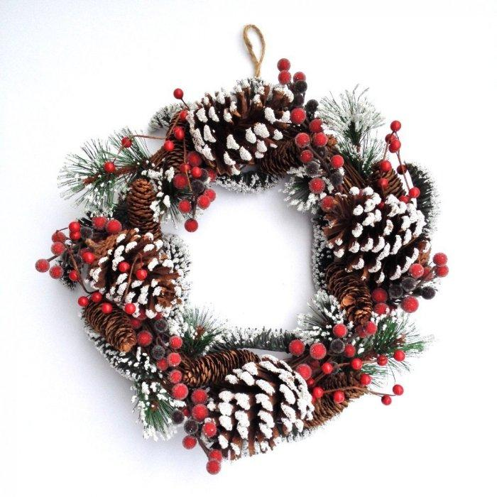 Christmas decoration idea 2 - holiday wreath