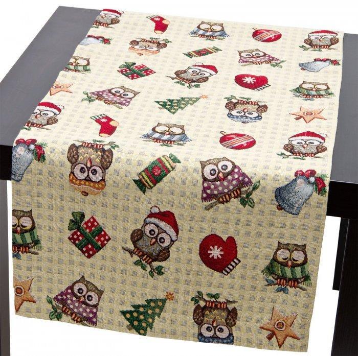 Christmas decoration idea 24 - funny table cloth