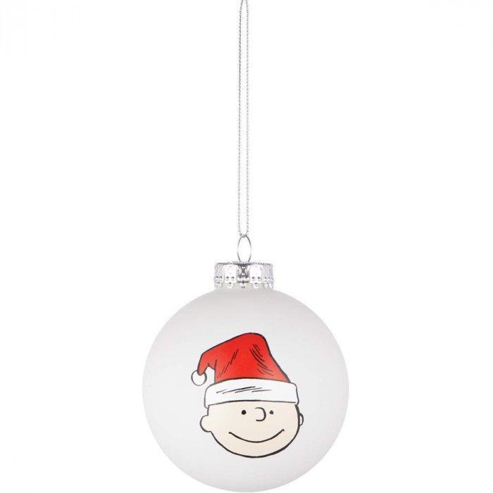Christmas decoration idea 5 - white ball