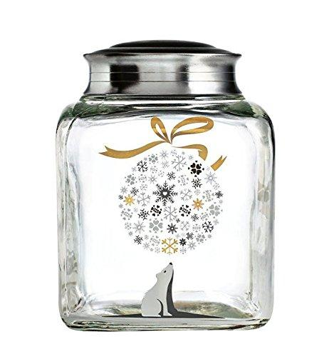Christmas decoration idea 7 - hurricane jar