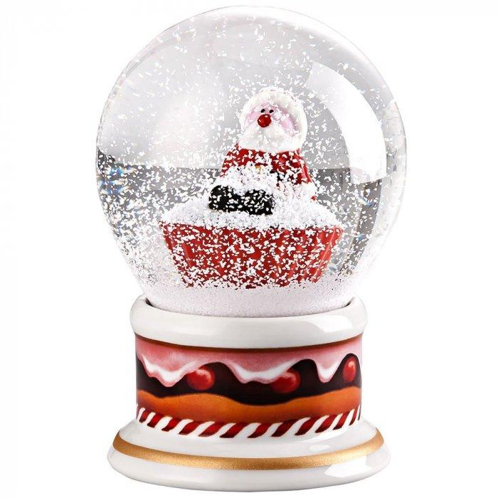 Christmas decoration idea 9 - white snow globe