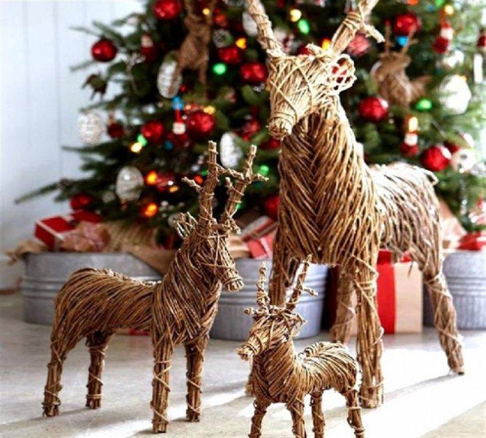 Christmas kids deers - inside children's room
