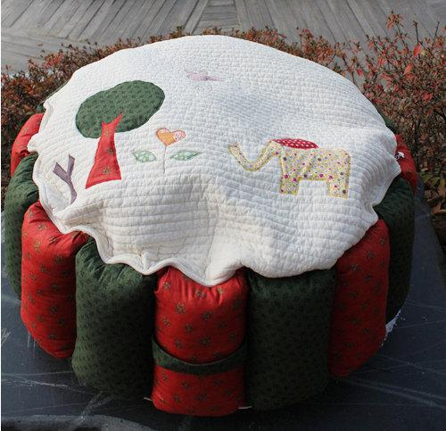 Christmas kids stool - with funny applications