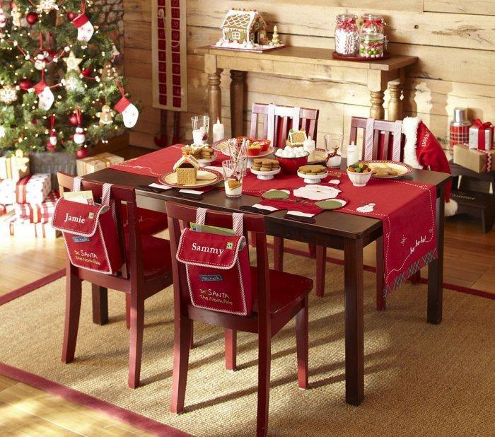 Christmas kids table - for four children
