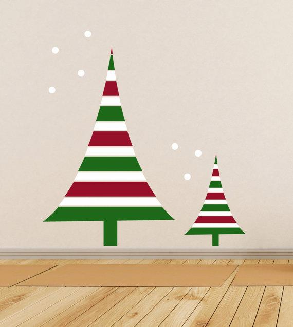 Christmas kids wall decals - for the living room