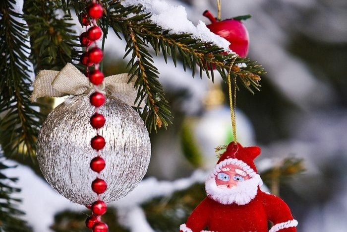 Christmas ornament - Santa Claus - used as decoration