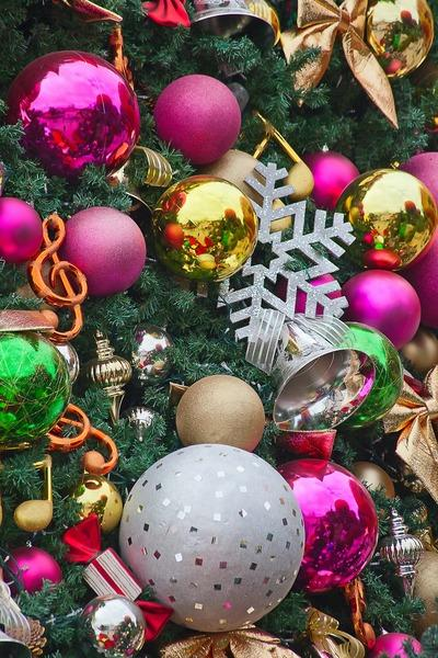 Christmas ornament - colorful balls - and other paper decorations