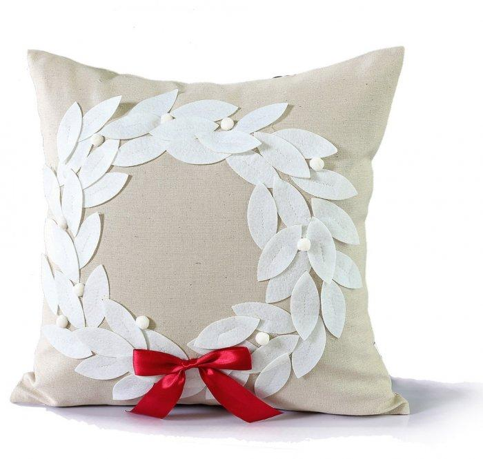 Christmas pillow - with applications