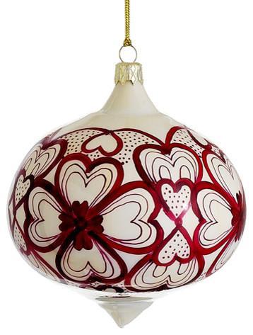 Christmas porcelain ball