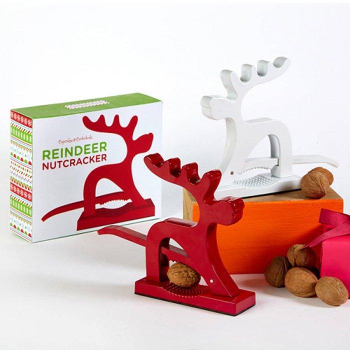 Christmas reindeer nutcracker - for men