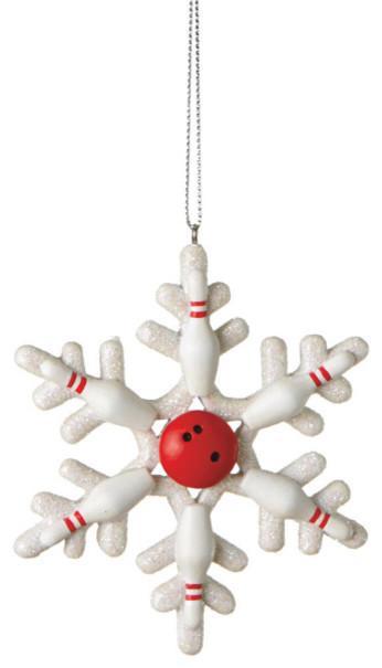 Christmas toy - white snowflake