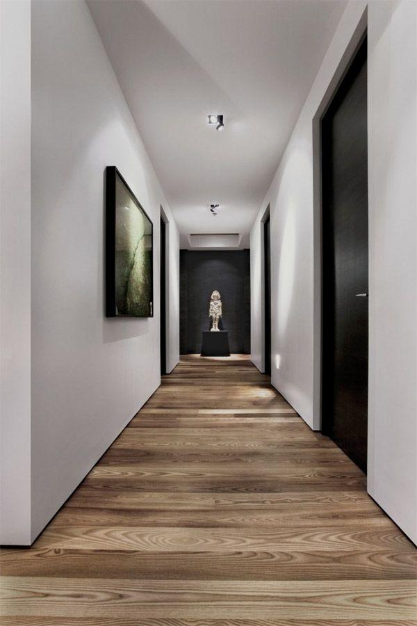 Fabulous Hallway Doors Black Glass And Sliding Examples Founterior Inspirational Interior Design Netriciaus