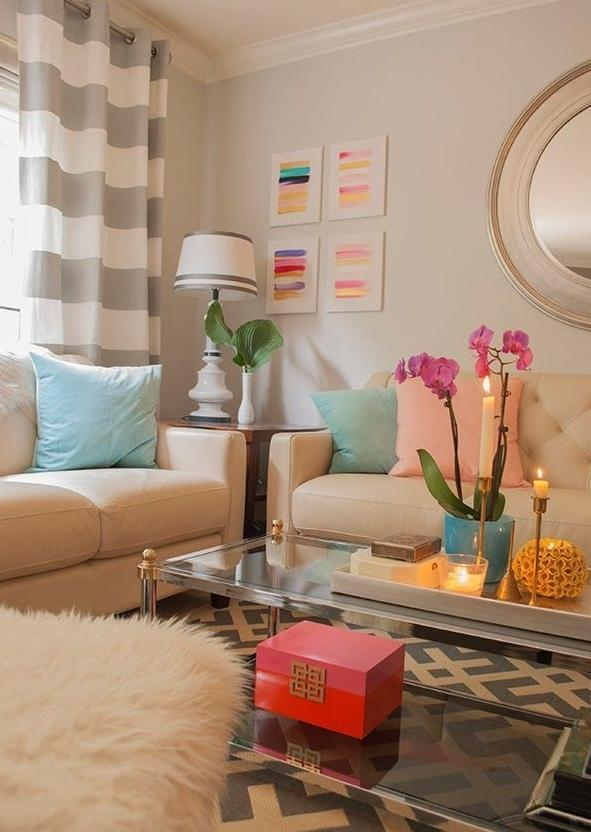 College living room 5 - with stylish modern design