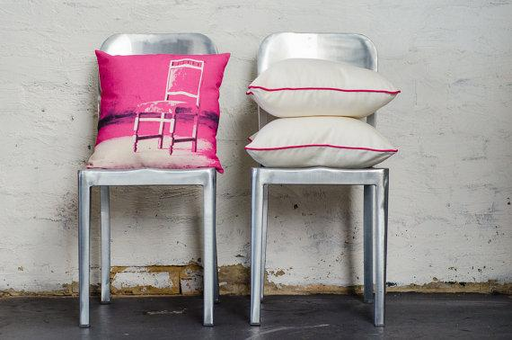 Colorful chair cushions - for decor