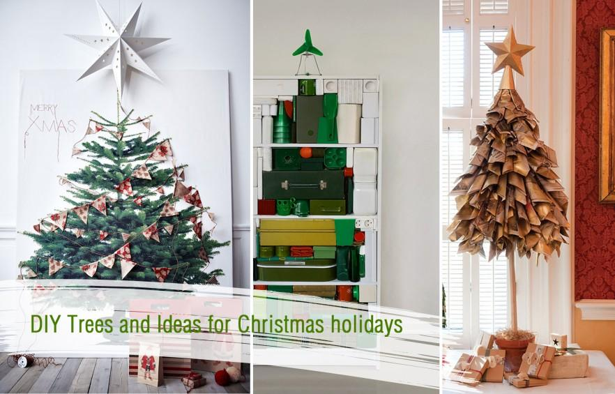 Creative Christmas Trees Decorations and DIY Ideas