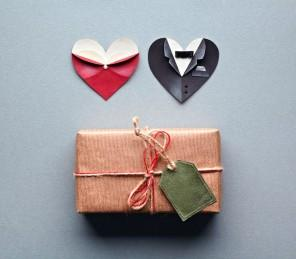 Creative home paper box and hearts