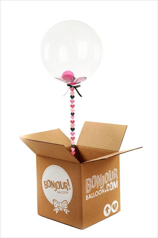Creative gift - with surprise balloon