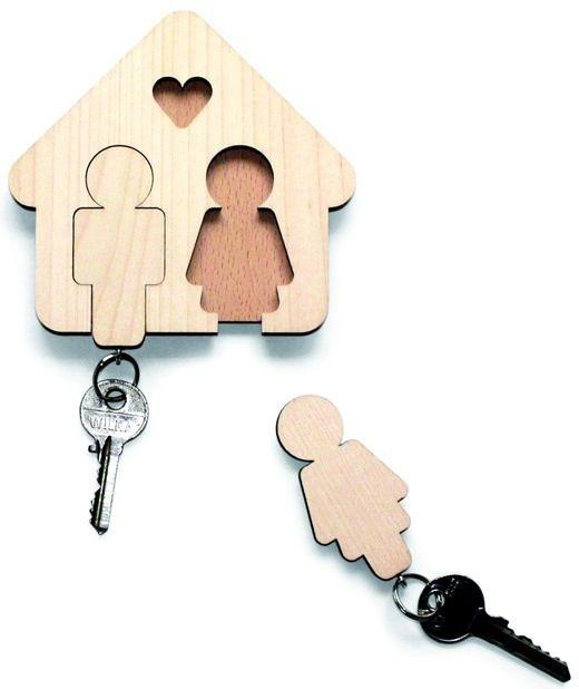 Creative key storage - for him and her