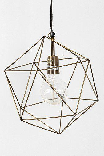 Creative modern lamp shade - made of metal sticks